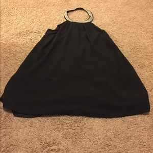 Tobi black dress super cute